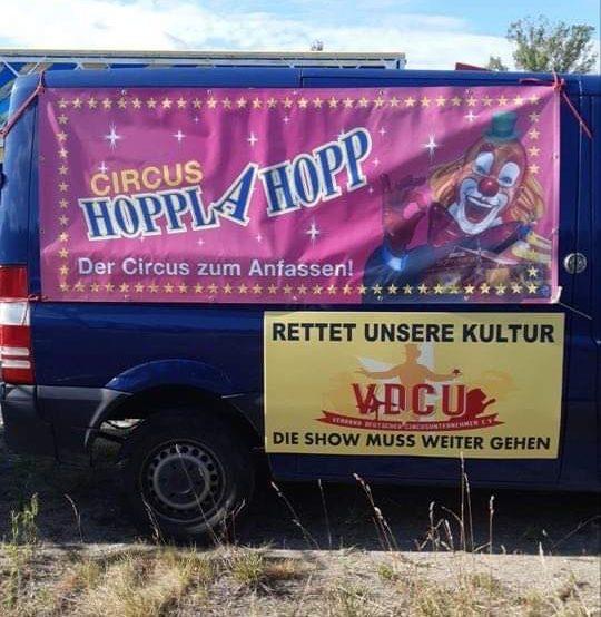 circus HOPPLAHOPP Berlin