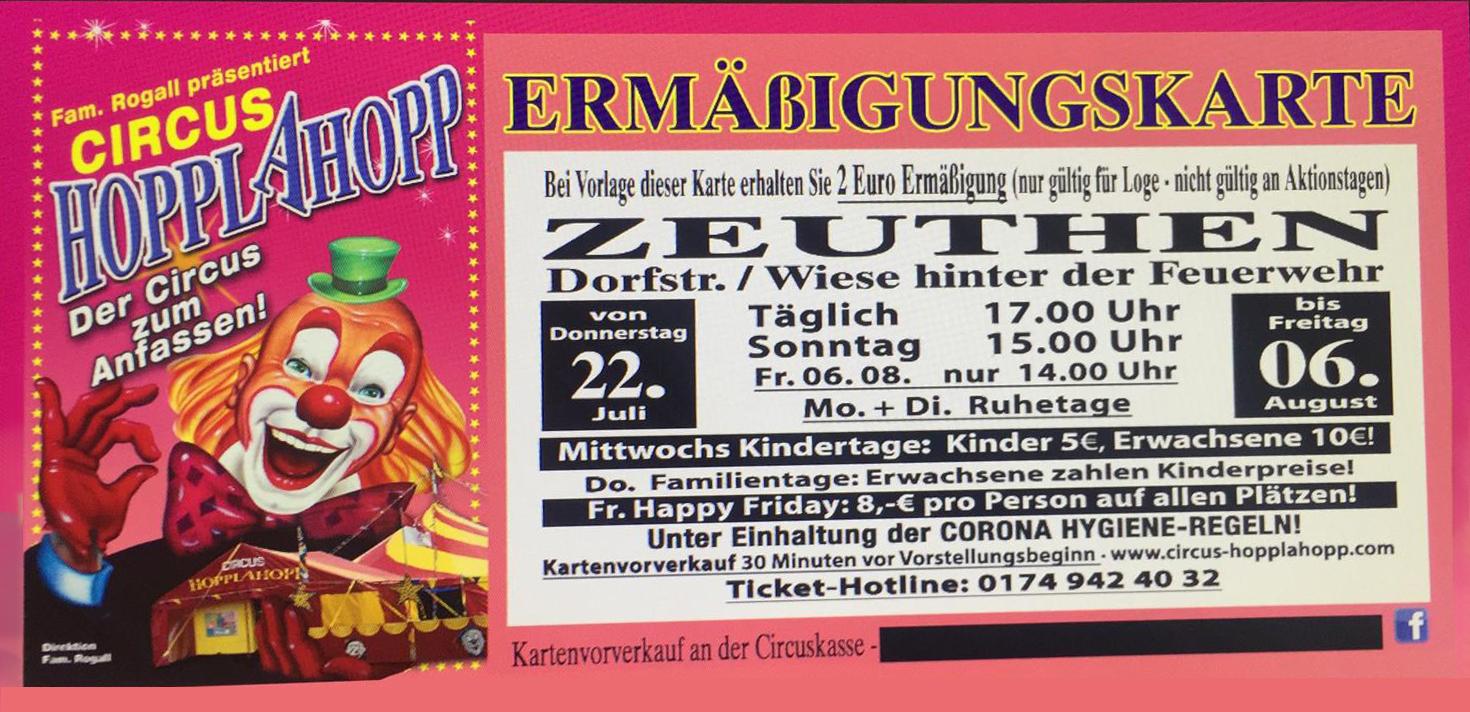 circus HOPPLAHOPP Berlin Zeuthen